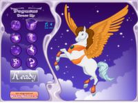 Pegasus Einkleiden