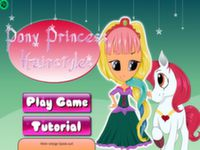 Pferde Prinzessin Einkleiden