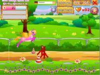 Pony Springrennen